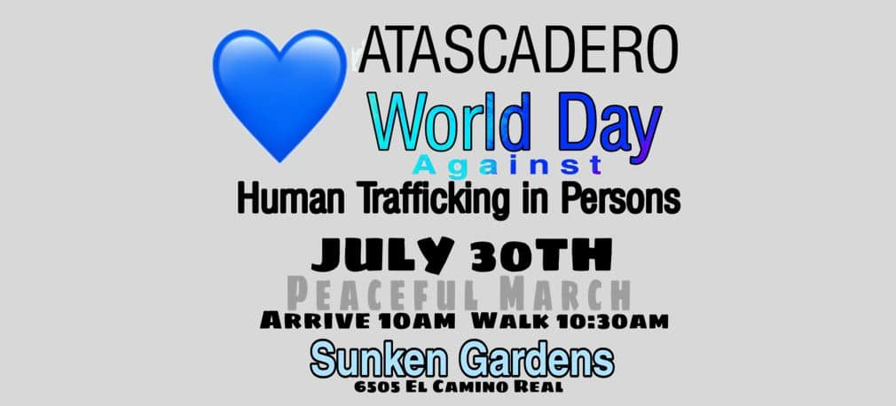 Human Trafficking Awareness Peaceful March Scheduled July 30