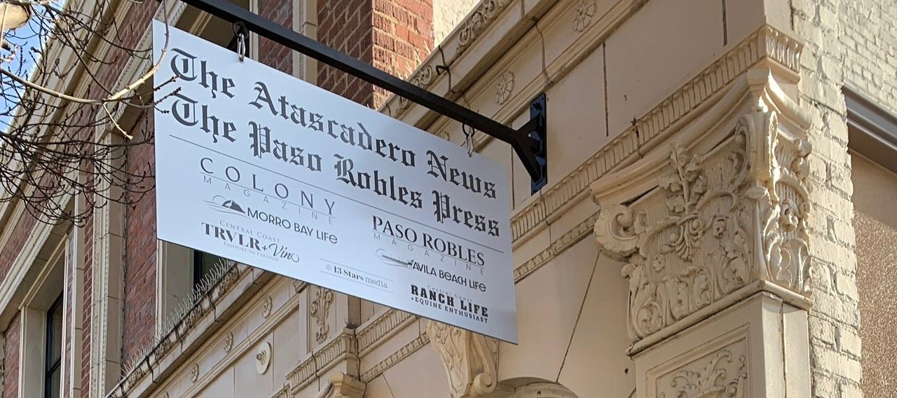 The Atascadero News and The Paso Robles Press Welcome Back Brian Williams