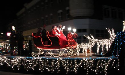 Holiday Light Parade, Rain or Shine!