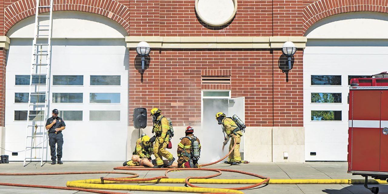 Paso Fire Hosts Open House