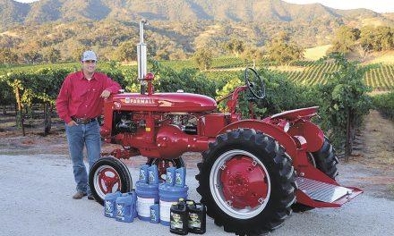 Paso's Schimke is Finalist for 2019  Delo Tractor Restoration Competition