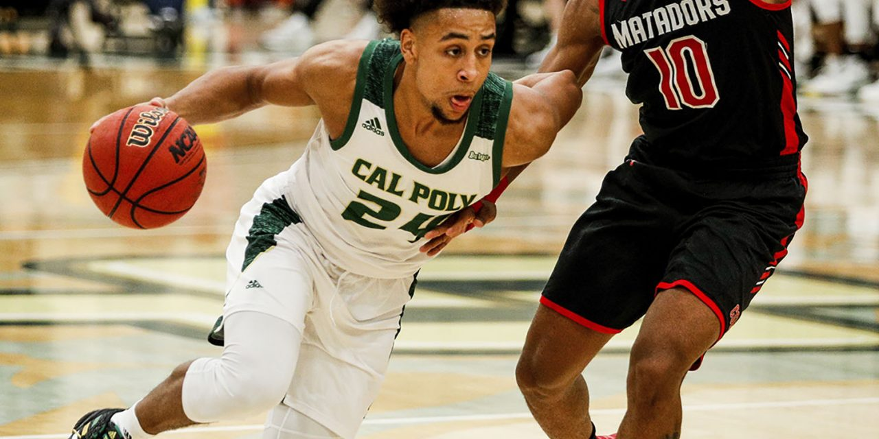 Cal Poly Shoots Way to 74-56 Big West Win Over CSUN