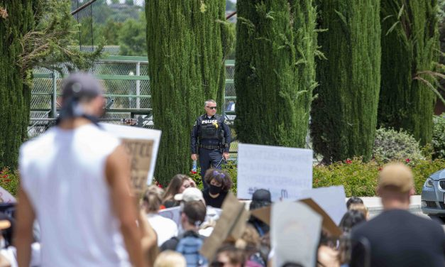 Paso Robles Protest Ends without Incident