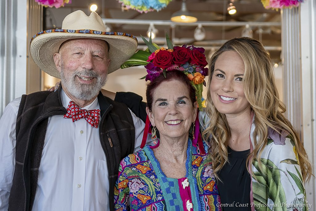 Jim Irving, Anne Laddon, and Sasha Irving. Photo by Central Coast Professional Photography