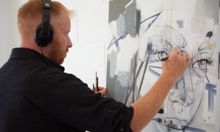 The Artist, Adam Eron Welch, Hosts Live Paintings