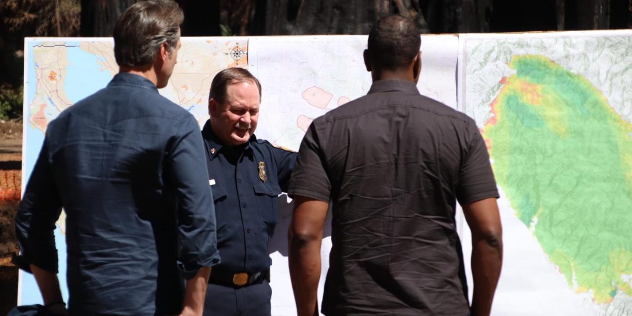 California Secures Federal Assistance to Support Fire Response