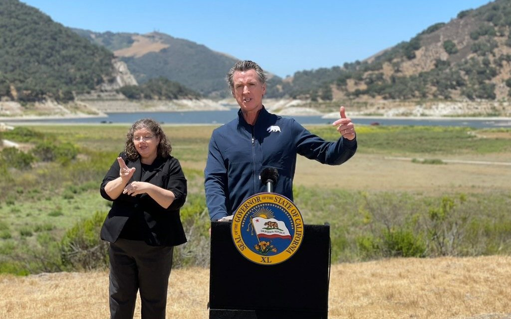 Gov. Newsom Signs Executive Order for Drought Emergency and Water Conservation