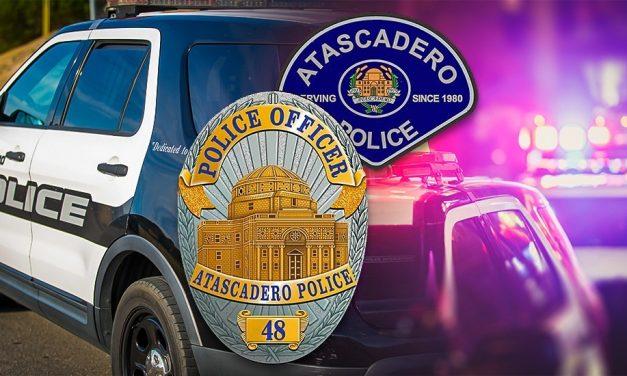 Police Activity Near Atascadero Junior High School