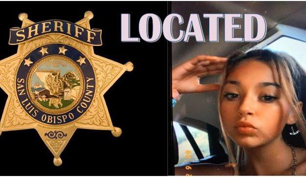 SLO County Sheriff Locates Missing Juvenile
