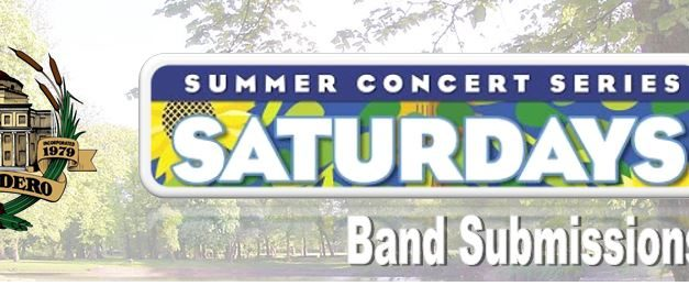 """""""Saturday in the Park"""" Summer Concert Series Band Submissions Open!"""