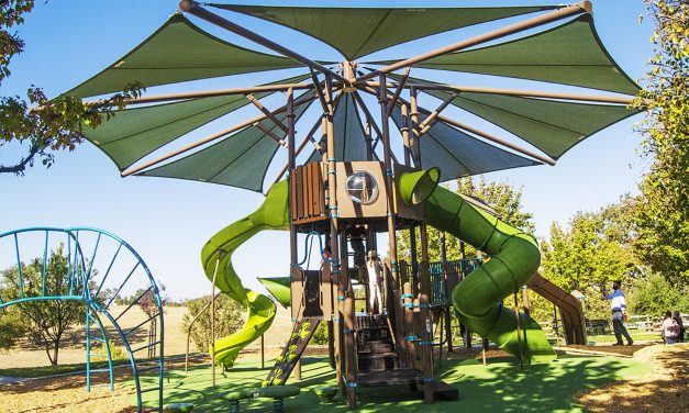 Two-Story Playground Open at Barney Schwartz Park