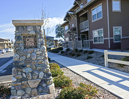 Affordable Housing Project Oak Park 4 Now Complete