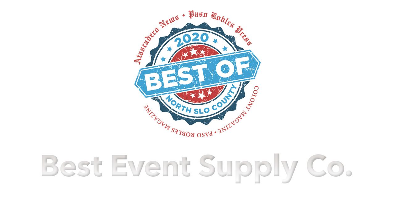 Best of 2020 Winner: Best Event Supply Company