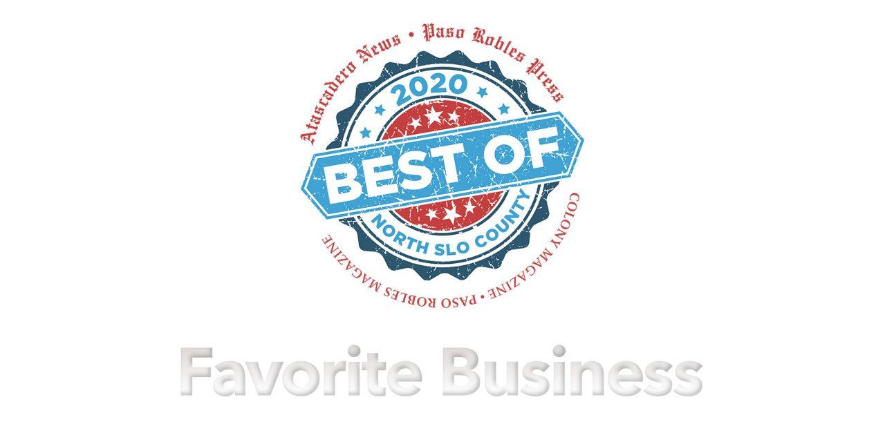 Best of 2020 Winner: Favorite Business
