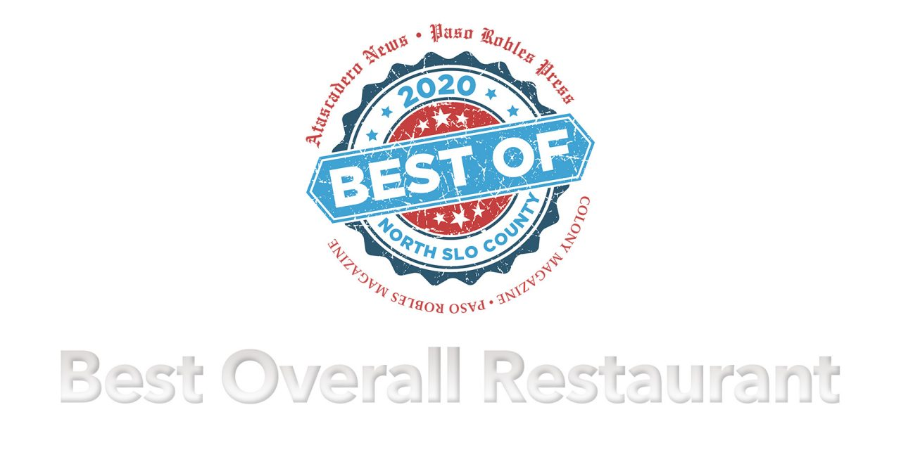Best of 2020 Winner: Best Overall Restaurant