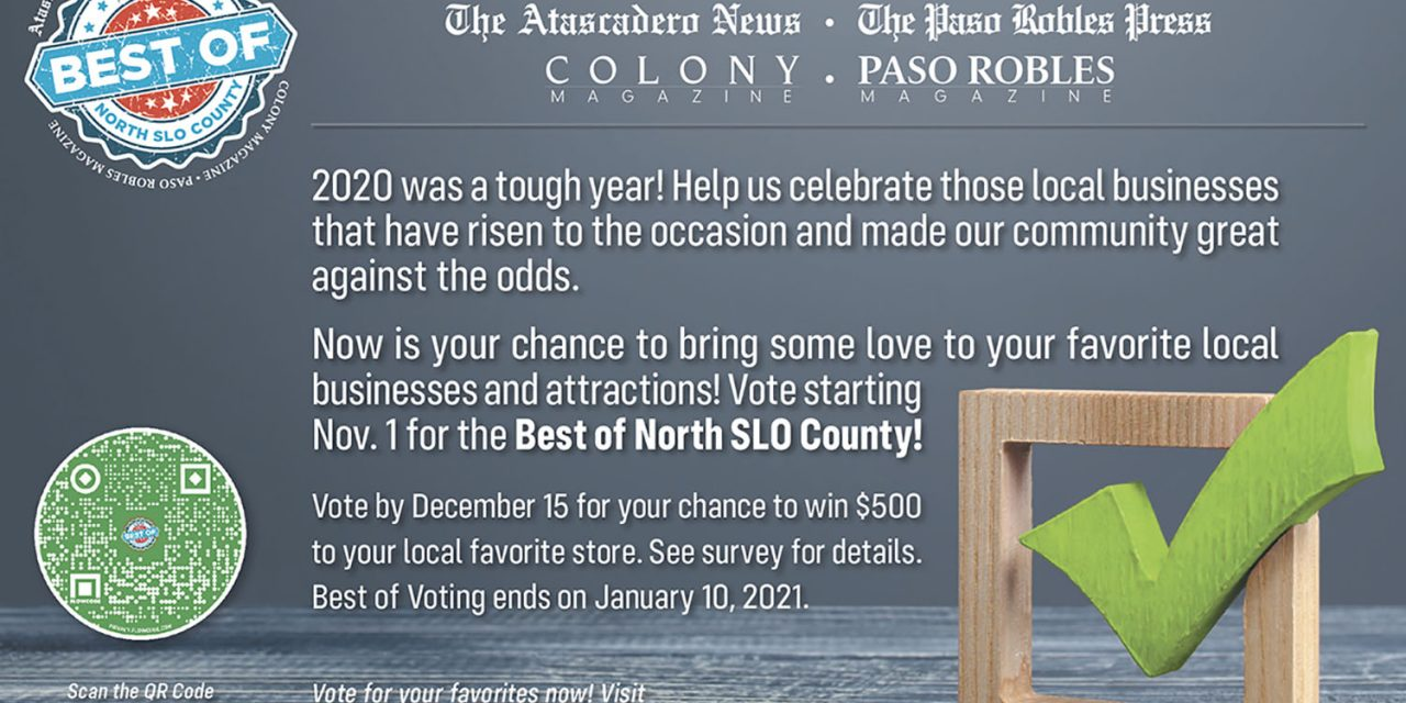 2021 Best of North County Readers Poll Now Open!!