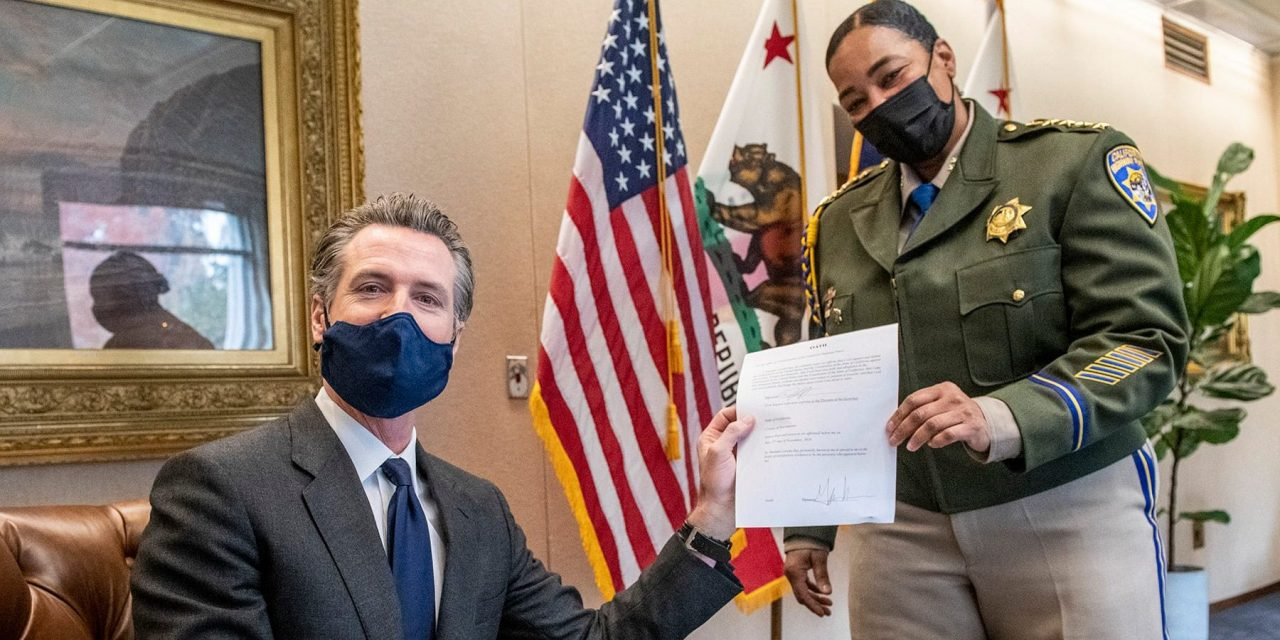 Gov. Newsom Swears In New CHP Commissioner