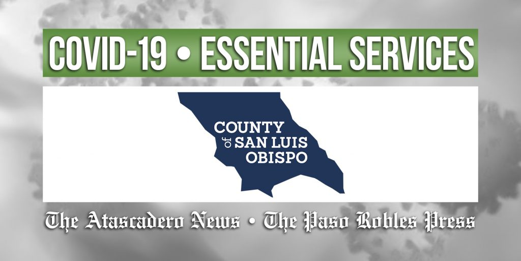 COVID-19 Featured Essential SLO County