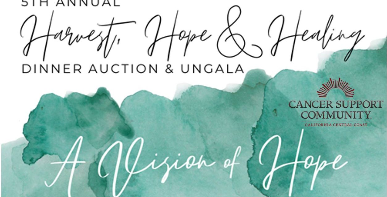 Cancer Support Fundraiser, Harvest, Hope & Healing Set for August 22 on a Virtual Platform