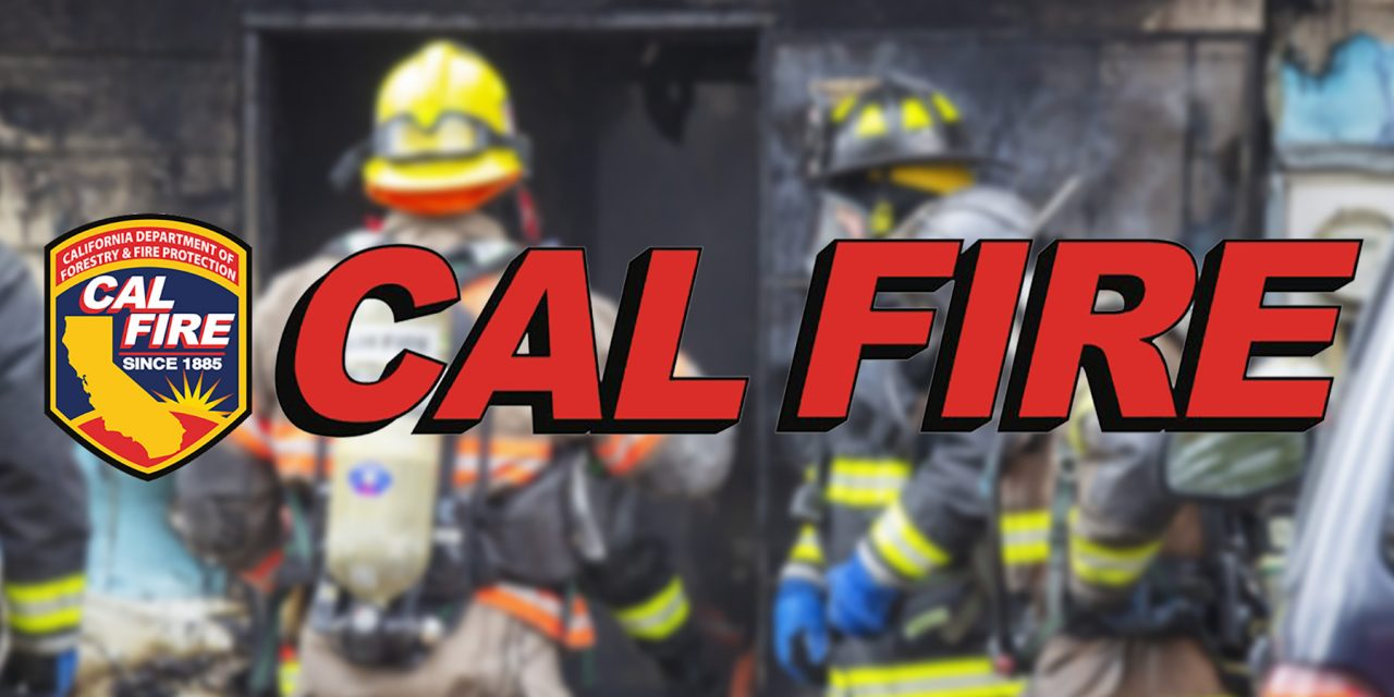 CAL FIRE Statewide Fire Summary, Oct. 3