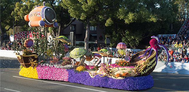 Cal Poly Students Rose Float Design Competition Amidst the Pandemic
