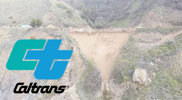 Caltrans Called in Heavy-Lift Helicopter to Rat Creek Site on Hwy 1