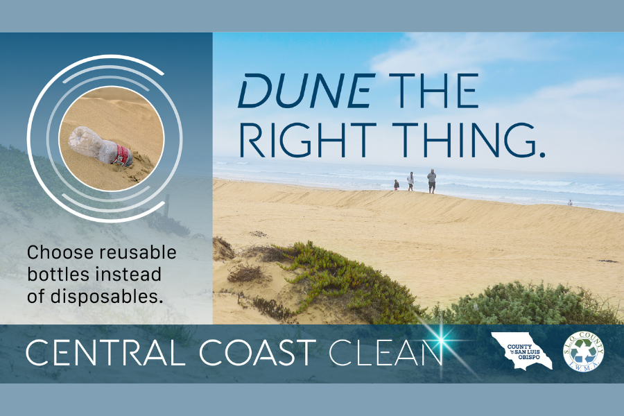 New County-Wide 'Central Coast Clean' Campaign Targets Litter