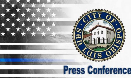 Press Conference: City of San Luis Obispo Today at Noon