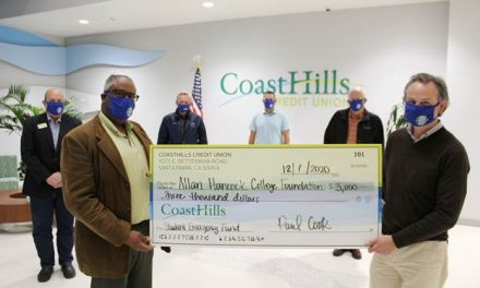 CoastHills Credit Union Delivers $10,500 of Support to Local Causes for Giving Tuesday