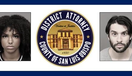 SLO County DA Files Criminal Complaints Against Arata-Wentworth and Bautista