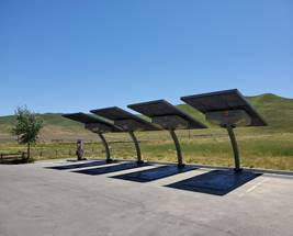 More Electric Vehicle Charging Stations Now Available at State Highway Rest Areas on Central Coast