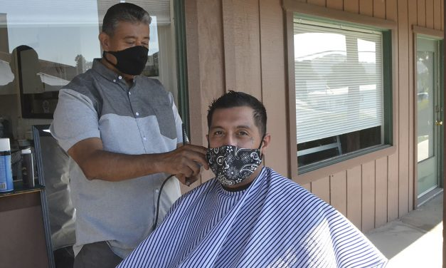 Salons, Barbers Adapt to Working Outside