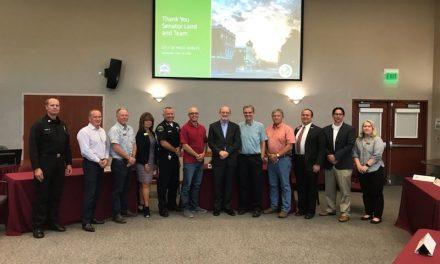 Senator John Laird Visits Paso Robles