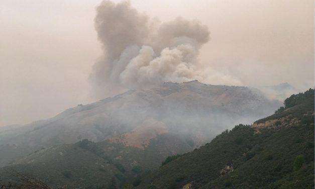 Weather Helping Firefighters Battle Dolan, Creek Fires