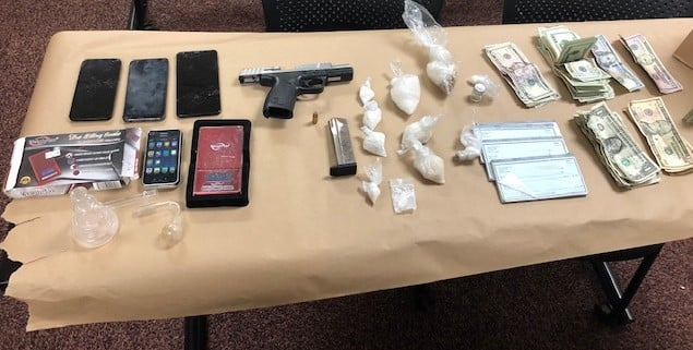 Two Arrested on Drug, Gun Charges in Paso Robles