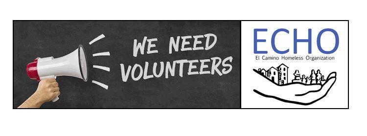 ECHO Organizations Urgent Need for Volunteers