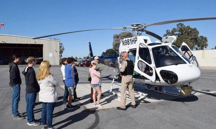 Estrella Warbird Museum Aviation Youth Tour CHP, Cal Fire Facilities