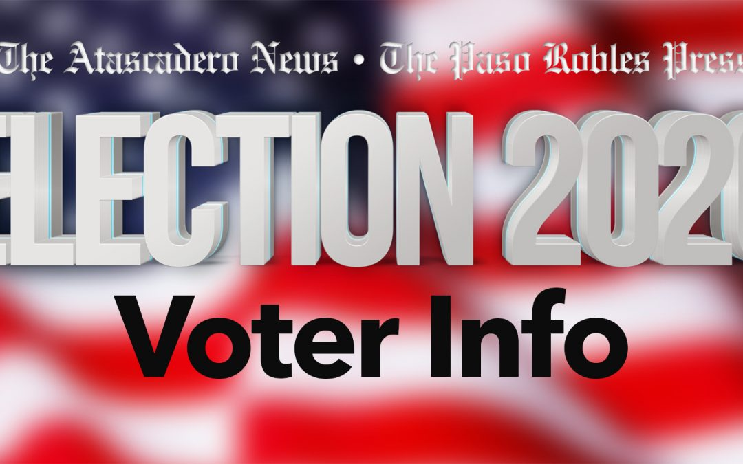SLO County Elections Office Releases Contest and District for Remaining Ballots