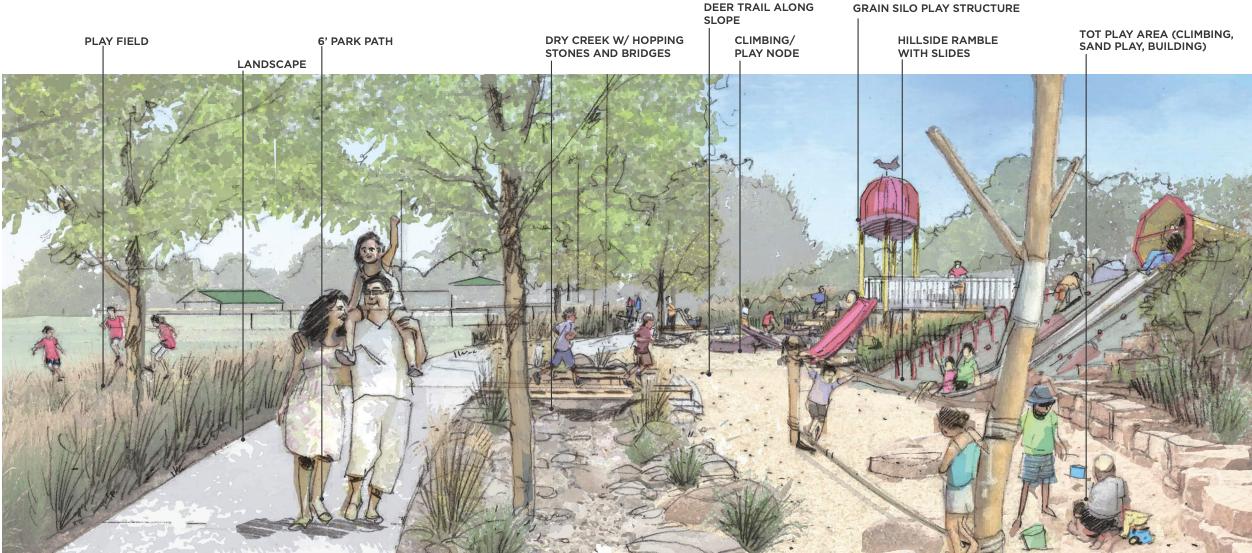 TCSD Seeks Public Input on Draft Evers Park Improvement Plan