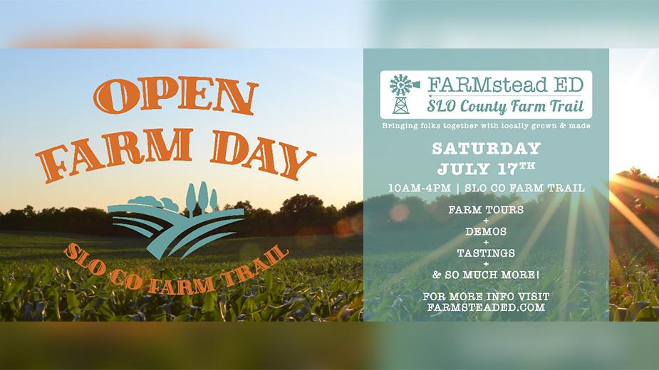 SLO Co Farm Trail Hosts 'Open Farm Day'