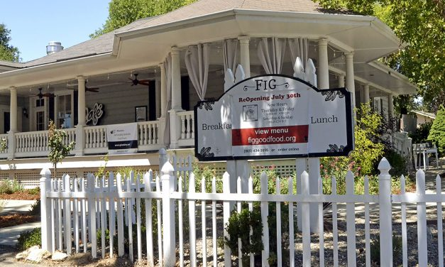 Fig Back Serving Good Food at Courtney's House