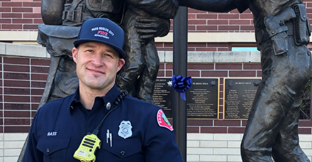 Nate Bass Named 2020 Firefighter of the Year