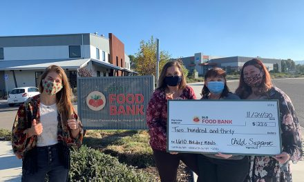 SLO County Child Services Contributes to Food Bank