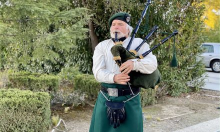 Former Paso Robles City Planner Celebrates St. Patrick's Day with Bagpipe Tour