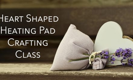 Heart-Shaped Heating Pad Craft Class