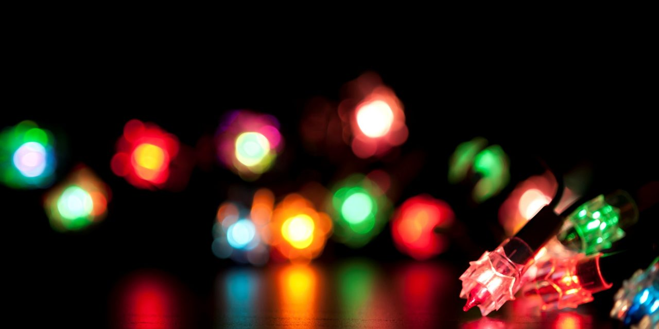 City of Atascadero presents Trail of Lights Holiday Lighting Tour Map