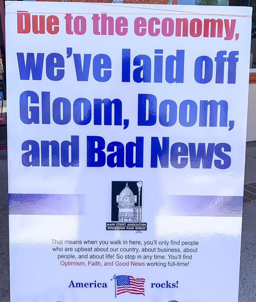 downtown economy gloom doom