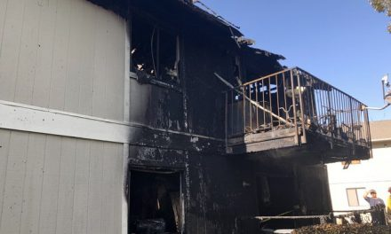 Fire Crews Respond to Apartment Structure Fire in Paso Robles
