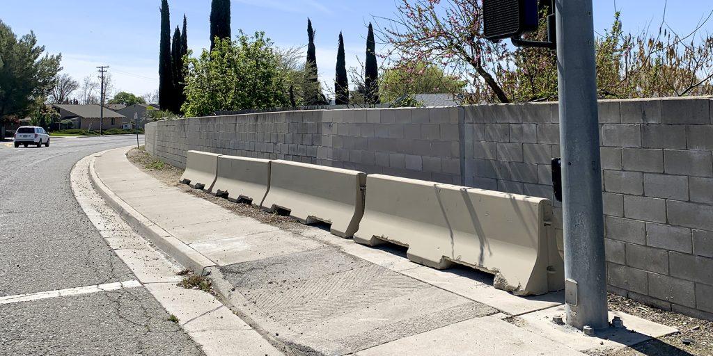 road safety barrier T-rails