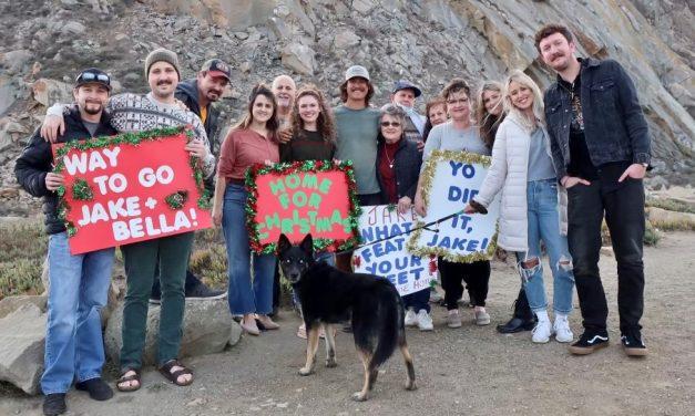 Air Force Veteran Jake Eyre's Walk Across America Ends in Morro Bay